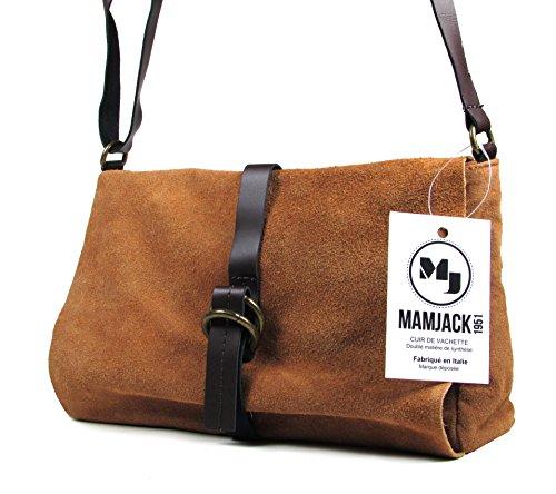 Mamjack, Borsa a spalla donna nero nero