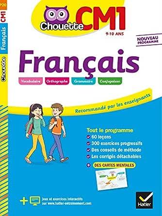 Français CM1 (Chouette Entraînement) (French Edition) eBook: Jean ...