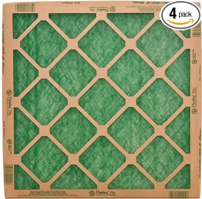 flanders¨ precisionaire¨ nested glass air filter, 20x25x1 in., 24 ...