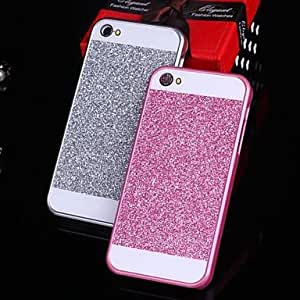 Solid Luxury Bling Glitter Back Cover Case Cute Cool Phone Cases Cellphone Protectors for iPhone 6 ,Color:Silver Protective Smartphone Shell