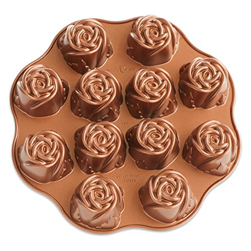 Nordic Ware Nonstick Sweetheart Rose Baking Pan - Sweetheart Rose Cup