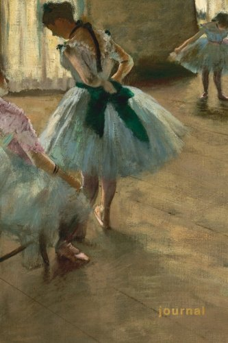 degas the dancer notebook