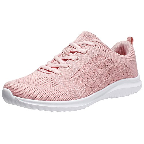 Women's Fashion Sneakers Casual Sport Shoes (8.5 B(M) US, Pink-2)