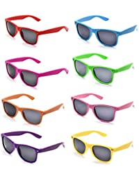 Neon Colors Party Favor Supplies Unisex Sunglasses Pack...