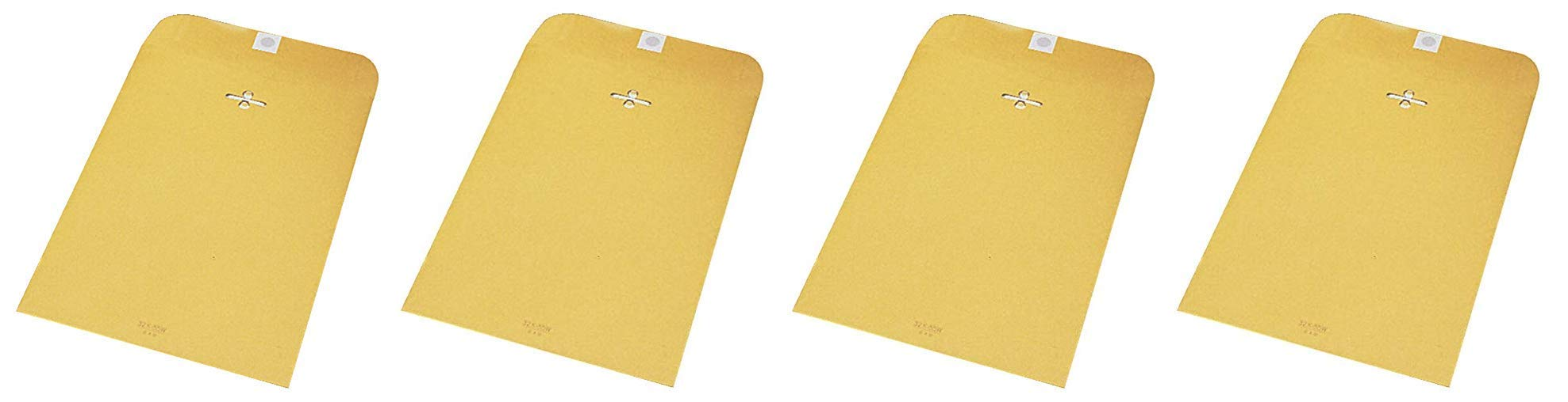 School Smart Kraft Envelope with Clasp, No 55, 6 x 9 Inches, Pack of 100 (Fоur Paсk) by School Smart