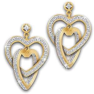 Together Forever Diamond Earrings