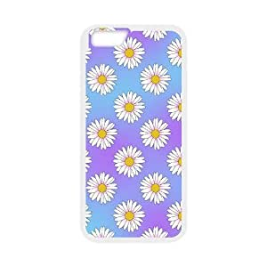 """Daisy Pattern Discount Personalized Cell Phone Case for iPhone6 4.7"""", Daisy Pattern iPhone6 4.7"""