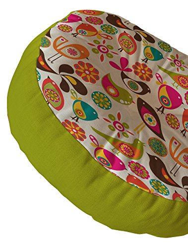 Deny Designs Valentina Ramos Floor Pillow, Little Birds by Deny Designs