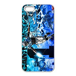 Unique Phone Case Pattern 4The NFL stars Cam Newton from Carolina Panthers team custom design case cover - For Apple Iphone 5 5S Cases