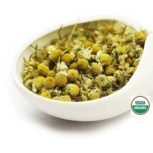 German Chamomile Flowers (Organic Chamomile - Matricaria recutita Dried Loose Flower - By Nature Tea (4 oz))