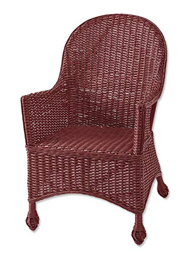 Amazon.com: Orvis Indoor Wicker Chair and Reading Table/Only ...
