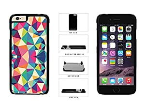 Rainbow Kaleidoscope Pattern Plastic Phone Case Back Cover Apple iPhone 6 Plus (5.5 Inches)