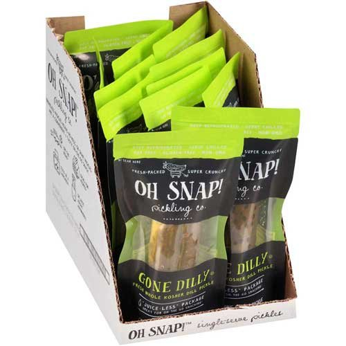 (Oh Snap Gone Dilly Dill Pickle - 12 per case.)
