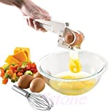ez egg cooker - Ez Cracker Clever Handheld Egg Yolk White Separator Kitchen Gadget Cooking On TV