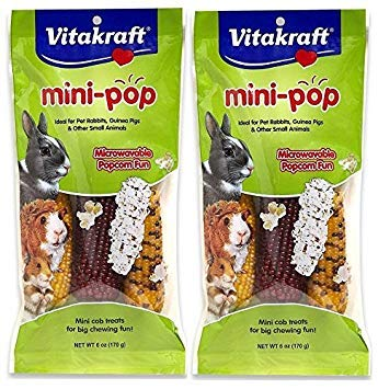 Vitakraft Mini-Pop Small Animal Treat, 2 Count