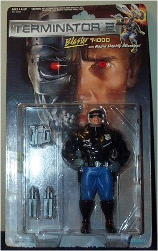 Terminator 2 Blaster T-1000 with Rapid Deploy Missiles Action - T1000 Terminator