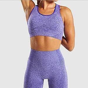 Beiziml Women Vital Seamless Yoga Set Gym Clothing Fitness Leggings+Cropped Shirts Sport Suit Women Long Sleeve Tracksuit Active Wear