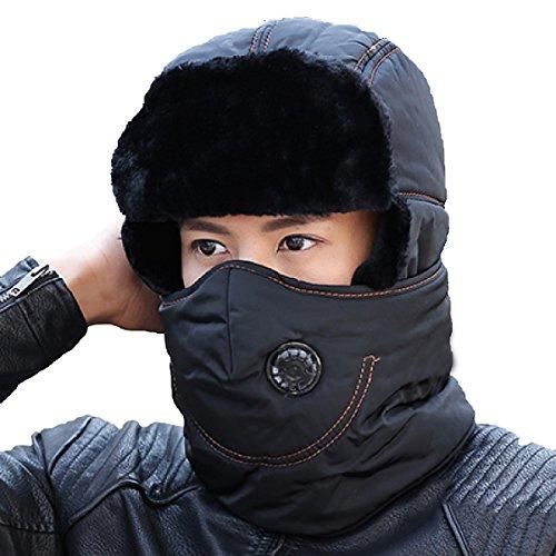 Invierno Sombrero Bombardero Brown Caza Sombrero De Sombrero De Estilo De Hombre De Piloto Unisex Oreja De Ruso De De Para Aleta Caliente nIqP5xq