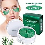 Under Eye Patches, Collagen Under Eye Pads Anti Aging Gel Eye Treatment Mask for Moisturising Hydrating Dark Circles Wrinkles Depuffing Eye Bag Under Eye Mask