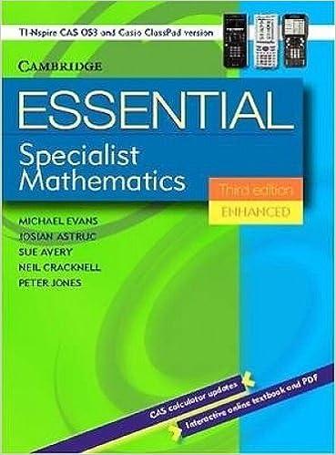Buy Essential Advanced General Mathematics Third Edition Enhanced