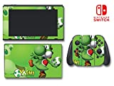 New Super Mario Smash Bros Yoshi Egg Luigi Video Game Vinyl Decal Skin Sticker Cover for Nintendo Switch Console System