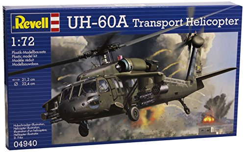 Revell Germany UH-60A Transport Helicopter Model Kit (1:72 Scale)