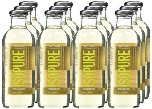 Natures Best Isopure Zero Carb Ready to Drink, Coconut, 20 Fl Oz (Pack of 12)