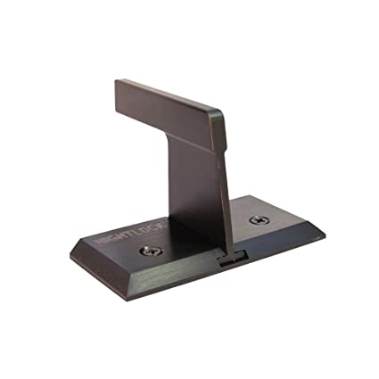 Nightlock Security Lock Patio Sliding Door Barricade Dark Bronze - Screen Door Hardware - Amazon.com  sc 1 st  Amazon.com & Nightlock Security Lock Patio Sliding Door Barricade Dark Bronze ...
