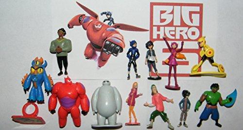Big Hero Figures Decorations CollectibleRing
