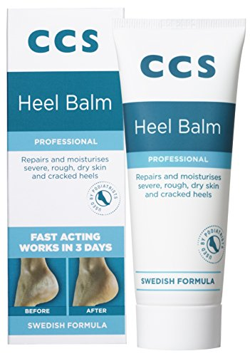 CCS Swedish Foot Heel Balm For Rough Dry And Cracked Heels - 75g
