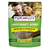Pur Luv Large Hearty Bones, Chicken Flavor, 26 Ounce Review