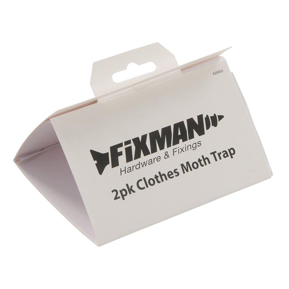 FIXMAN 426900 - Trampa para polillas de ropa, 2 pzas (2 pzas): Amazon.es: Bricolaje y herramientas