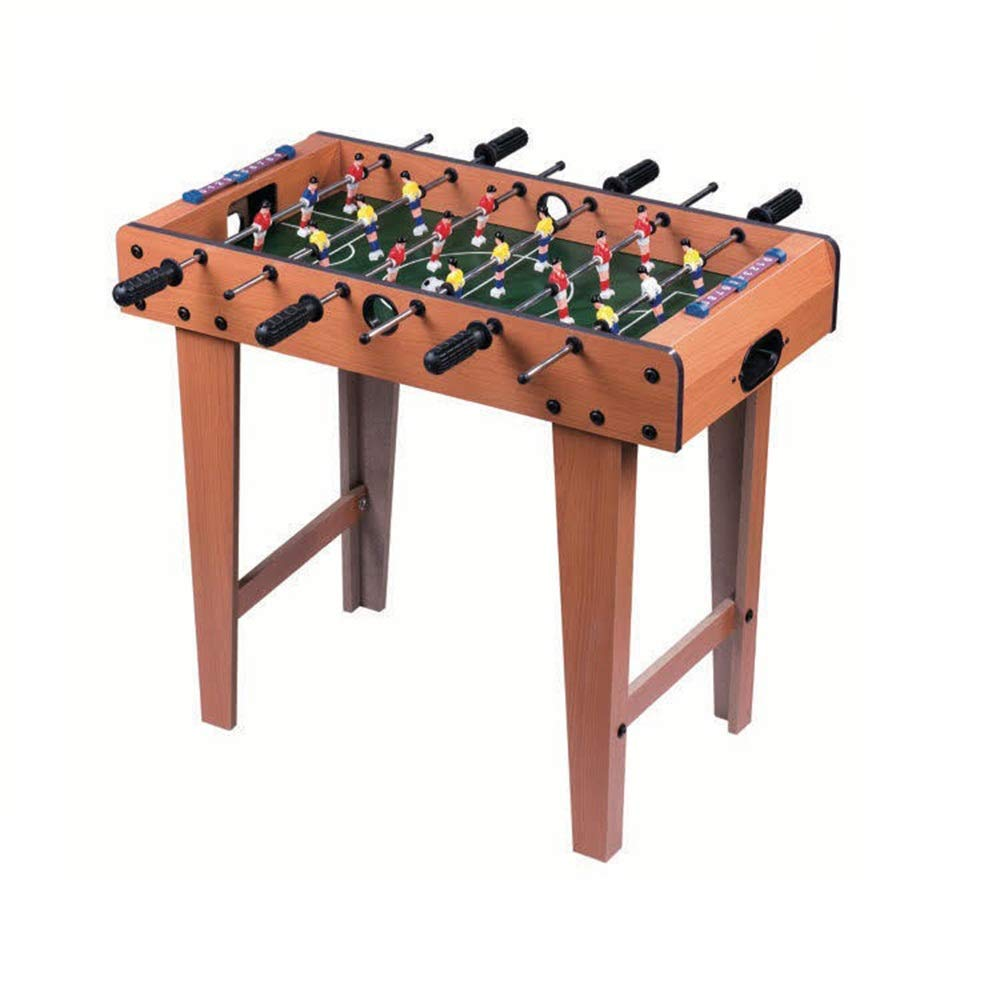 Foosball Table Soccer Game Table W/Competition Sized Football Arcade for Indoor Game Room Sport (Color : Color, Size : 62x69x37cm) by Forgiven