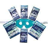 Premier Dead Sea Relaxation Gift of Dead Sea Mud Masks and Dead Sea Salts from Israel plus Soothing Eye Gel Mask, Organic Skin Care for Bath and Body from Dead Sea Secrets Gift Spa Set