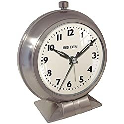 Westclox Big Ben 1939 Retro Style Analog Alarm Clock 47602