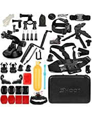 SHOOT 51-in-1 Outdoor Sports Action Camera Accessories Kit for GoPro Hero 6 Hero5