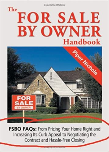 The For Sale by Owner Handbook Piper Nichole 9781564148056 Amazon