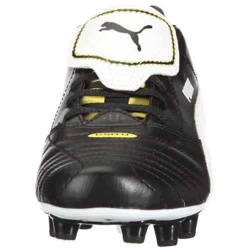 Puma Esito finales i fg 102008 zapatos de los deportes fútbol para hombre Negro (Black-White-Fluo Yellow)