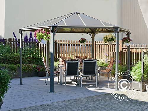 Dancover Cenador de jardín Monaco 4, 5x4, 5m: Amazon.es: Jardín