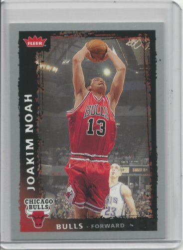 2008-09 Fleer Basketball Card # 71 Joakim Noah ()