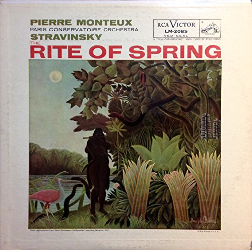 Stravinsky the Rite of Spring by RCA VICTOR RED SEAL