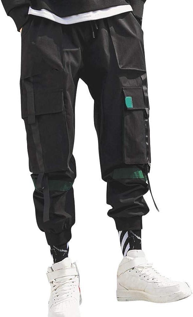 Pantalón Chandal Hombre Pant Color Sólido Pantalones Hombre Hip ...