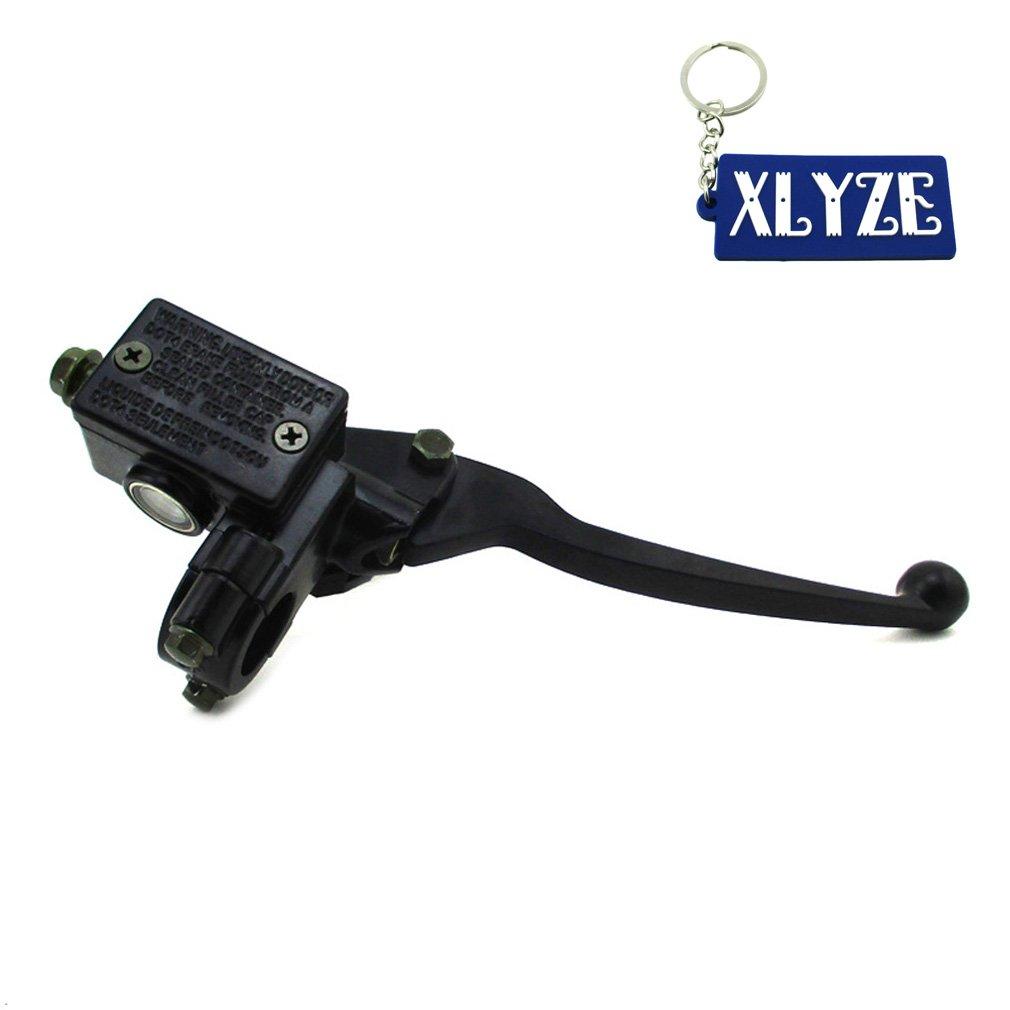 XLYZE Front Brake Master Cylinder Handle For Honda TRX450 TRX400 TRX300 TRX250 ATV 110cc 125cc 140cc 150cc 160cc Pit Dirt Bike