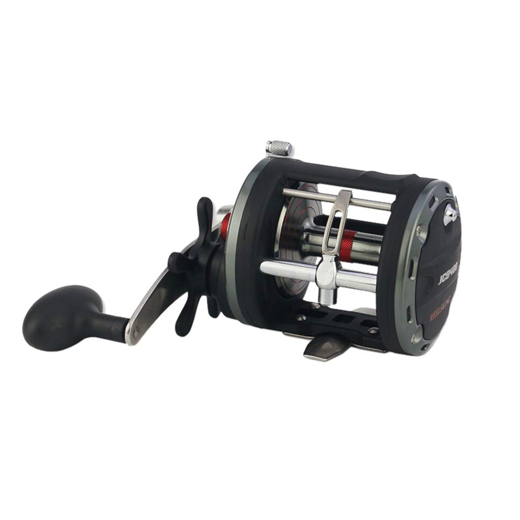 Iusun Fishing Reels Spinning Reel Bearing Metal Drum Trolling Baitcasting Saltwater Game Boat 12+1BB Freshwater Wheel Gear Light Weight Ultra Smooth Powerful High Speed Low Profile Baitcasting by Iusun Fishing Accessories