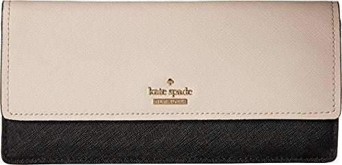 Kate Spade New York Women's Cameron Street Alli Contenental Wallet, Tusk/Black, One Size by Kate Spade New York