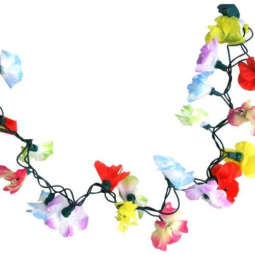 Fun Party String Lights (Light Up Flower Lei Garland)