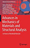 img - for Advances in Mechanics of Materials and Structural Analysis: In Honor of Reinhold Kienzler (Advanced Structured Materials) book / textbook / text book