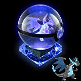 Pokemon Crystal Poke Ball Night Light with