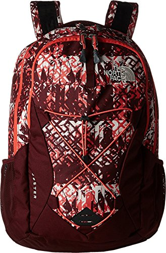 The North Face Women's Women's Jester Deep Garnet Red Ethnique Print/Deep Garnet Red Backpack