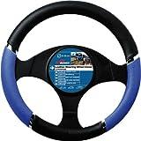Sumex 2505056 Couvre Volant 37-39 cm PVC - Speed Bleu/Noir